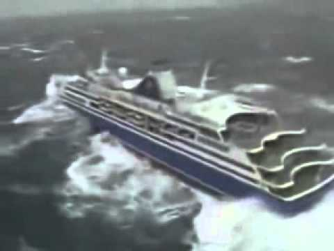 Cruise Ship Rockin And Rollin In A Bad Storm From Above YouTube - Rocking cruise ship