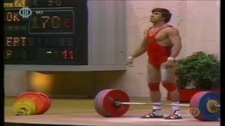 David Rigert | Bomb out at Olympics | Olympic Weightlifting 1980 | Moscow | 90kg