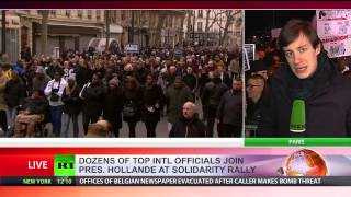 Paris March: Largest demonstration in French history