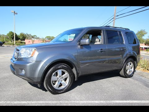 SOLD 2010 Honda Pilot EX-L One Owner Meticulous Motors Inc Florida For Sale