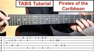 Baixar Pirates of the Caribbean (Theme) | TABS Fingerstyle Lesson TABS Playthrough