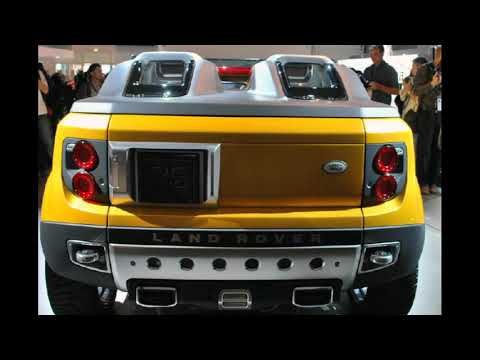Land Rover DC 100 Hybrid Sport Concept