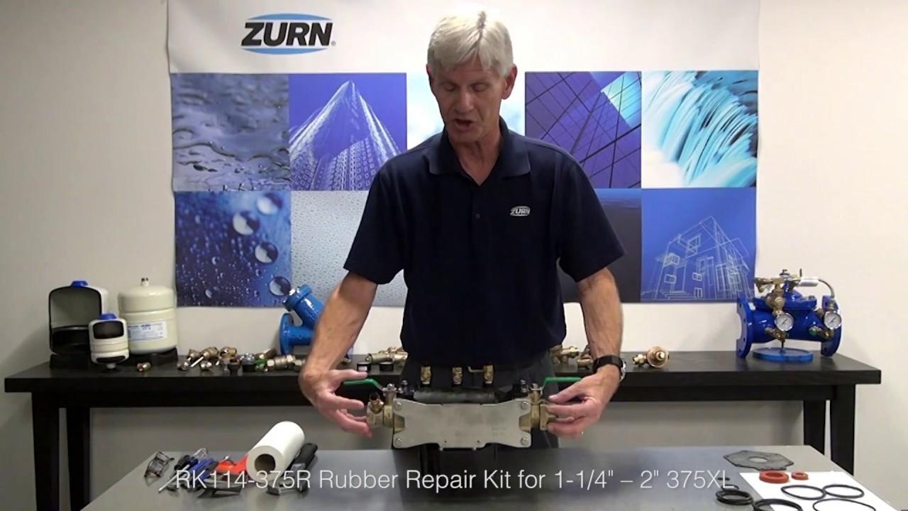 "Zurn Wilkins Backflow Prevention 375XL Rubber Repair Kit for 1-1/4"" – 2"""