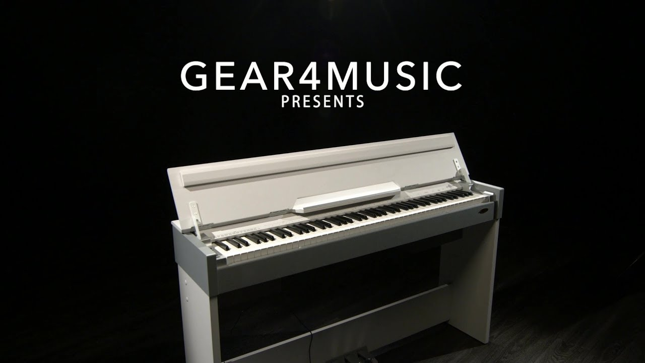 Dp 7 Compact Digital Piano By Gear4music White Gear4music Demo Youtube