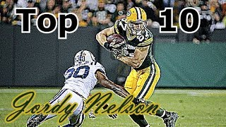 Jordy Nelson Top 10 Plays of Career