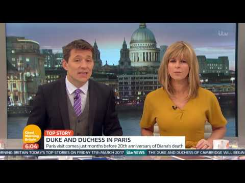 The Duke and Duchess of Cambridge Visit Paris | Good Morning Britain