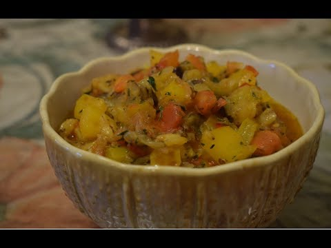 How To Make Eggplant Vegan Salad || Baklajannaya Ikra || Step by Step Recipe (2018)