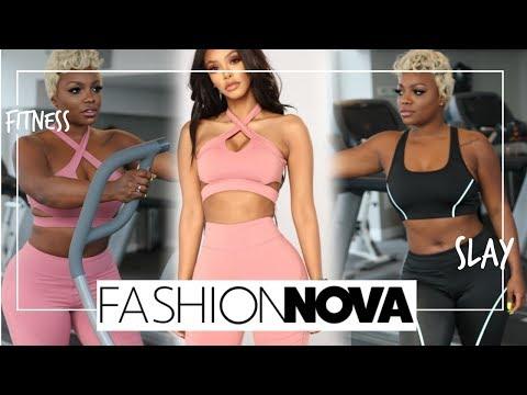 Fashion Nova Fitness : Try on haul Athletic Wear #Cutegymclothes