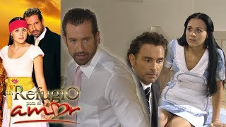 Un refugio para el amor - Capítulo 12: ¿Rodrigo comienza a celar a Luciana? | Tlnovelas