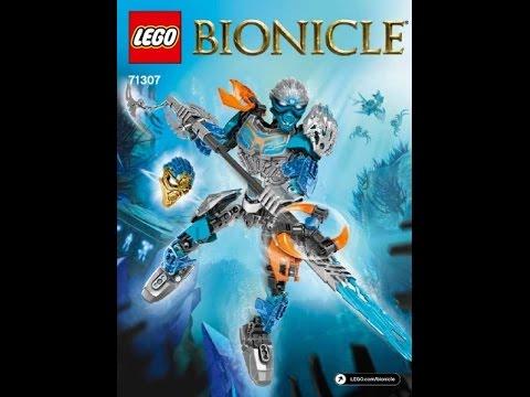 Lego bionicle 2016 инструкции