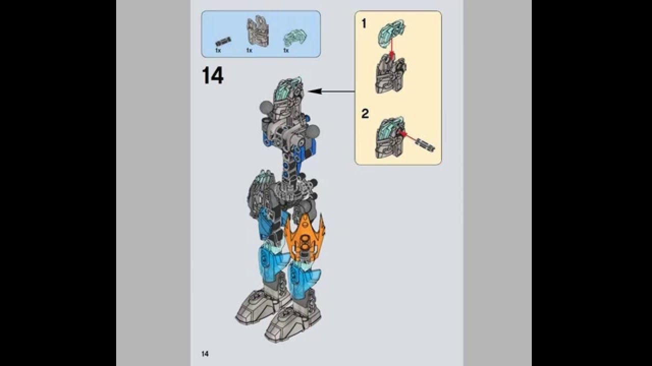 Инструкции по сборке биониклов