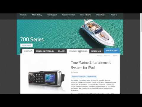 FUSION Marine Tech Tips   Marine Software Updates