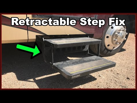 Kwikee Step Repair On A Class A Fleetwood Bounder