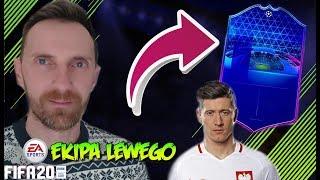 JEST NOWY ZAWODNIK W EKIPIE!!! MESSI SIĘ ROZKRĘCA - *Ekipa Lewego*odc.2 FIFA 20
