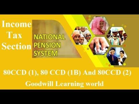 Income Tax Section 80CCD (1) , 80CCD (1B) and 80 CCD (2 ...