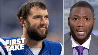 Andrew Luck has absolutely lived up to the hype – Ryan Clark | First Take