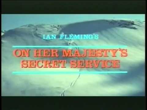 On Her Majesty's Secret Service (1969) Trailers