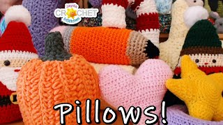 Planning a Pillow Project - InStitches Family Crochet Party 45