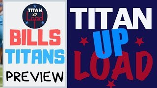 Buffalo Bills at Tennessee Titans Preview and What Does ESPN's Ryan Clark Think About Titans?