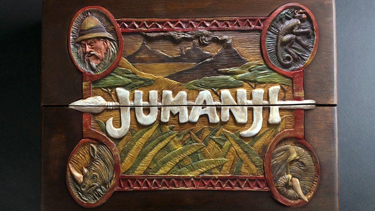 Making a jumanji board timelapse doovi - Jumanji gioco da tavolo ...
