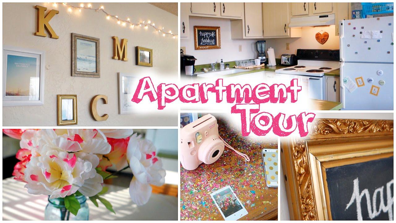College Apartment Tour 2015 Youtube