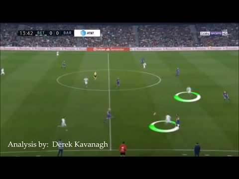 Analysis Real Betis vs FC Barcelona - Isolation from Goal Kicks
