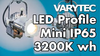 Varytec LED Profile Mini IP65 3200K wh: makes your light edgy