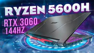 Игровой ноут на Ryzen 5600H и RTX 3060 - Acer Nitro 5 (2021)
