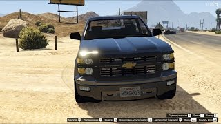 GTA 5 2015 Chevy Silverado Unmarked