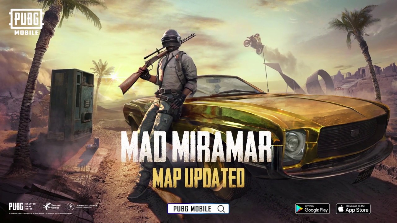PUBG MOBILE - Version 0.18.0 Update Overview - Mad Miramar - YouTube