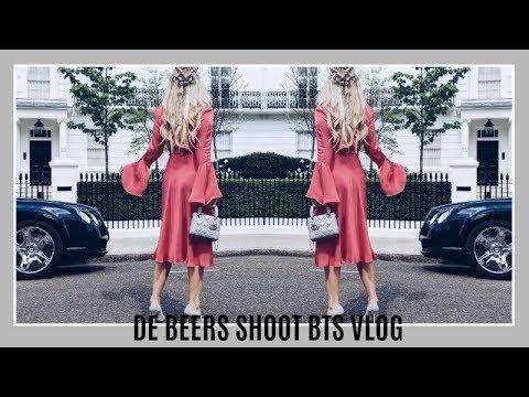 DE BEERS SHOOT BTS VLOG | IAM CHOUQUETTE