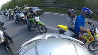 Мотопробег открытие сезона 21.05.2016 Урай
