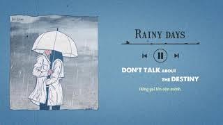 [Vietsub + Lyrics] Rainy days - Alf Wardhana