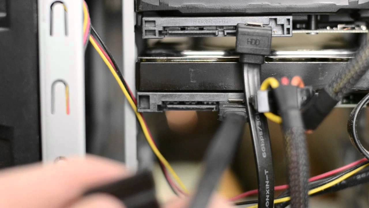 How To Install a Desktop Hard Drive Gateway Gt Motherboard Wiring Diagram on