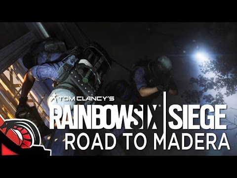 ROAD TO MADERA | Rainbow Six Siege - Rankeds c/ None, Cotrof, Eruby y Lobo