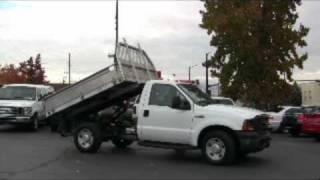 F350 with Dump Truck Hoist