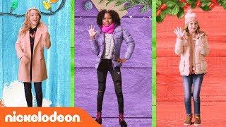 Dance Battle w/ Santa, Henry Danger & School of Rock Stars🎅🏻  | Nick