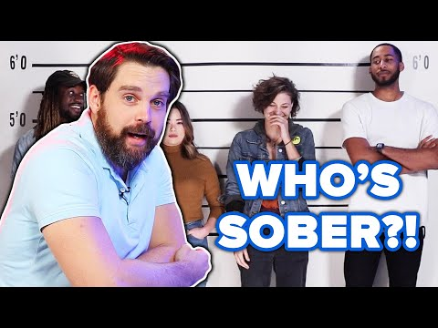 Private Investigator Guesses Who's Sober Out Of A Lineup