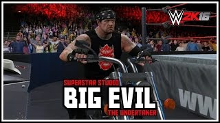 "WWE 2K16 - ""BIG EVIL"" The Undertaker & The 2002 ""Ruthless Aggression"" RAW Arena!"