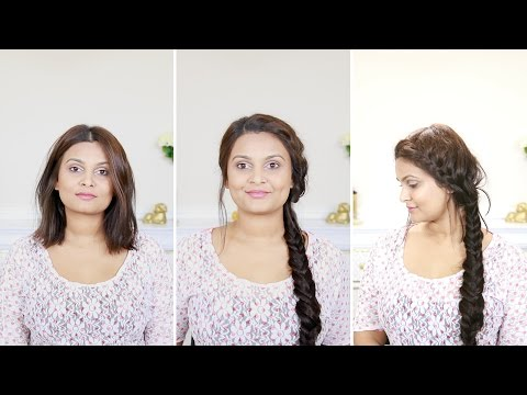How to do a French Fishtail Braid With Extensions