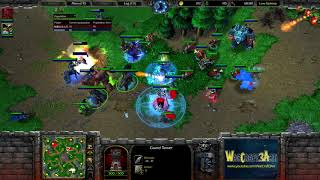 Moon(NE) vs Infi(HU) - WarCraft 3 Frozen Throne - RN3756