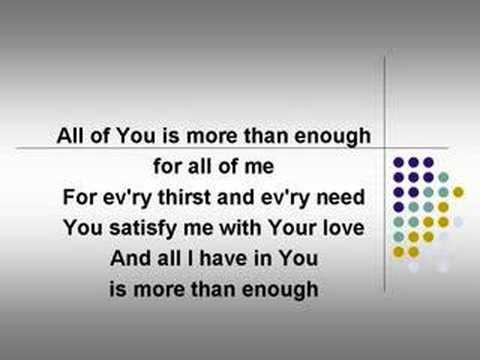 Enough (worship video w/ lyrics)