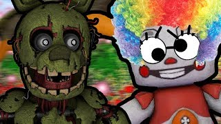 SPRINGTRAP REACTS TO: How to Make Five Nights at Freddy's VR: Help Wanted NOT Scary!!!
