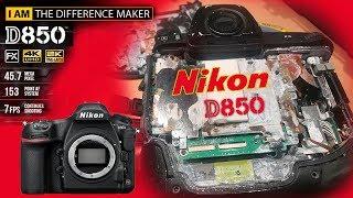 обзор камеры Никон D850 и что бывает с камерой, если ее утопить в соленой воде
