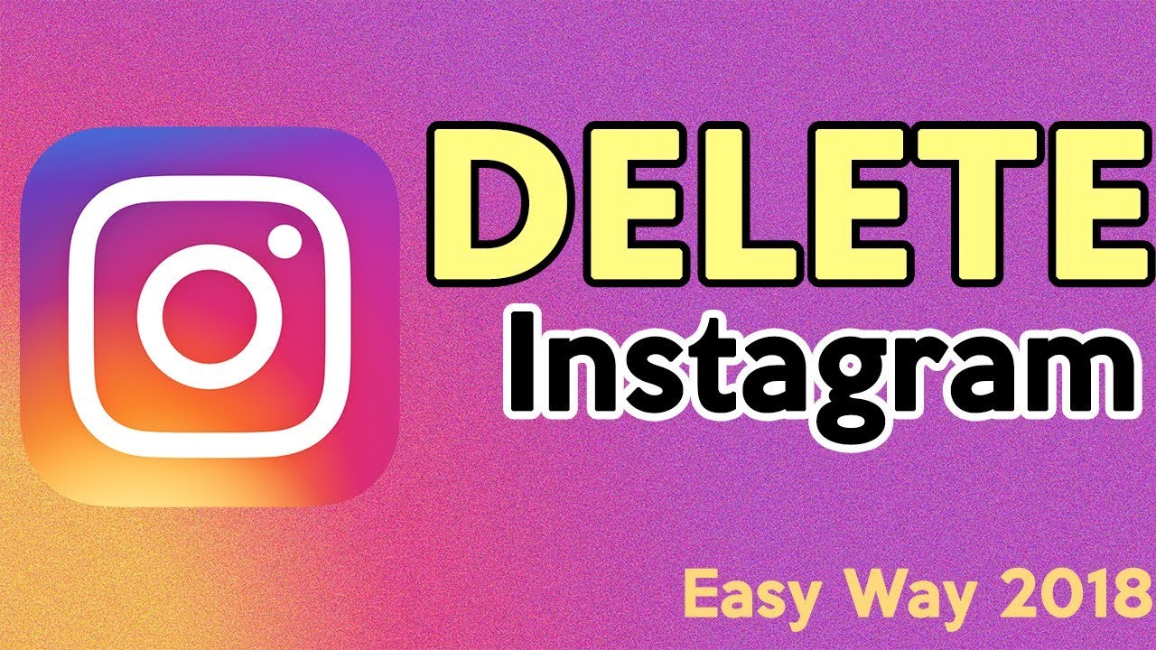 How to delete instagram account easy way to disable instagram how to delete instagram account easy way to disable instagram account permanent 2018 ccuart Image collections