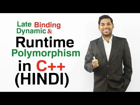 Polymorphism in C++ (HINDI)