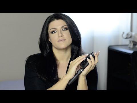 ASMR Brush Sounds - Hair Brushing with Plastic & Bristle ...