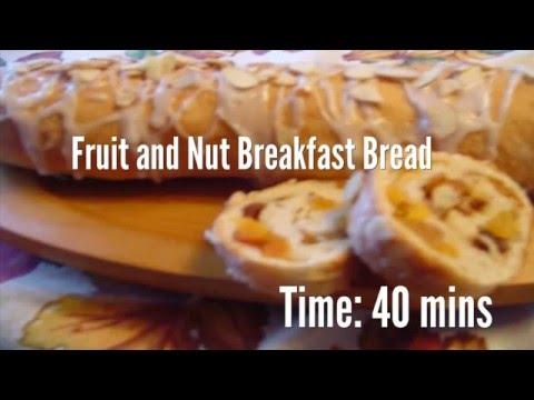 Fruit And Nut Breakfast Bread Recipe