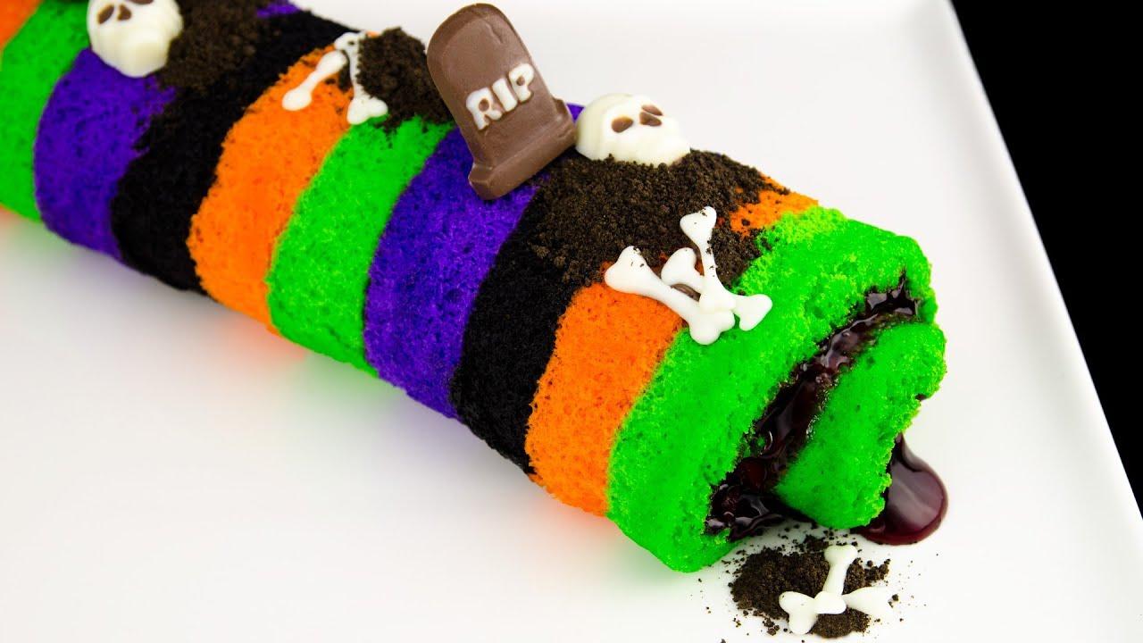 Cookies Cupcakes And Cardio Halloween Cake Roll