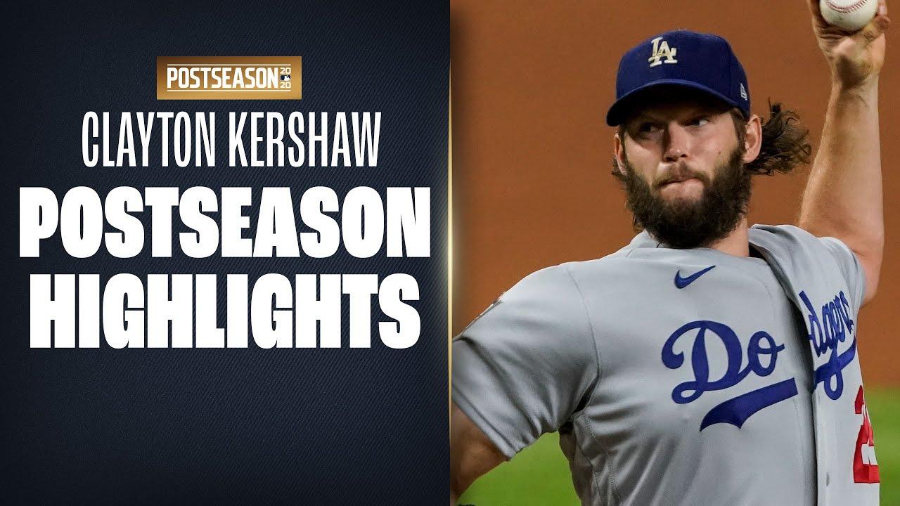 Clayton Kershaw Postseason Highlights (Dodgers legend gets first World Series title!)